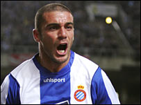 Walter Panidiani scored for Espanyol
