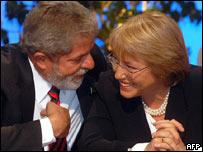 Lula Da Silva y Michelle Bachelet abogan por la unión latinoamericana para liderar la salida de la crisis