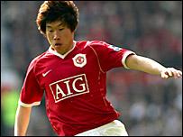 Man Utd midfielder Ji-Sung Park