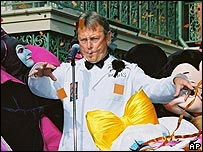 "Bobby ""Boris"" Pickett performs at Disneyland in 1996"