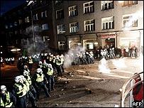 Las revueltas dejaron un muerto y varios heridos