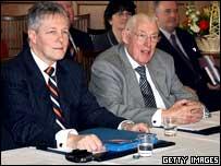 Peter Robinson and Ian Paisley