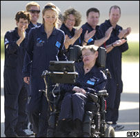Stephen Hawking (AFP)
