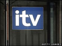 ITV logo at the London Television Studios