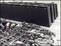 BlueGene L under construction, IBM