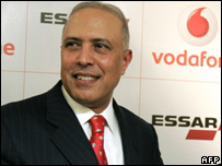 Vodafone chief executive officer Arun Sarin