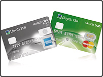 The two new Airmiles cards from Lloyds TSB