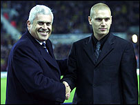 Peter Ridsdale and Seth Johnson