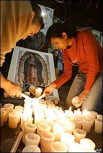 Activistas anti-aborto en Ciudad de M�xico.