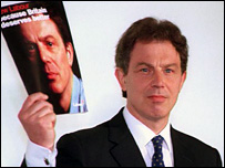 Tony Blair in 1997