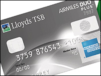 Lloyds TSB Airmiles Duo Plus American Express card
