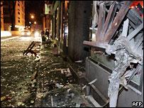 Улицы Таллина после беспорядков