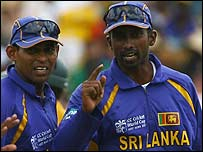Russel Arnold (right)