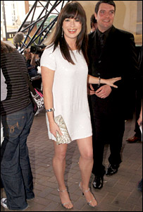 Eve Myles arriving at the ceremony 