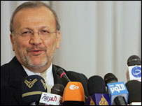 Iranian Foreign Minister Manouchehr Mottaki - 27/4/07