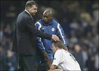 Allardyce consoles Kevin Davies