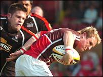 Scarlets centre Matthew Watkins