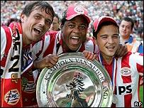 PSV con el títulos