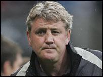 Birmingham manager Steve Bruce