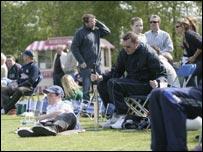 Spectators at Stormont