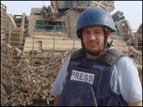 Alastair Leithead in Helmand province