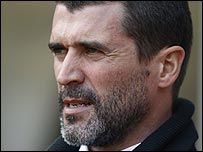 Sunderland manager Roy Keane was out walking his dog when his team clinched promotion