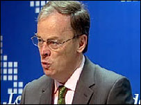 EDF chief executive Vincent de Rivaz