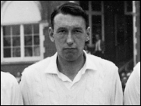 Tom Cartwright in 1964 before England faced Australia at the Oval