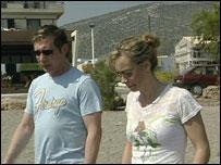 Neil Shepherd and Sharon Wood