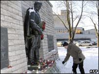 The Bronze Soldier in Tallinn