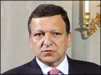 Mr Barroso is due to visit Northern Ireland on Tuesday