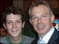Chris Heathcote and Tony Blair