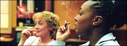 The smoking room bbc