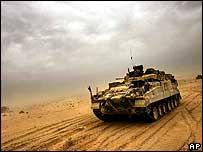 Tank in Iraq