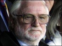 Leeds United chairman Ken Bates