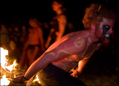 Beltane fire festival (Picture by Graham Butler, Photopoint, Beltane Fire Society)