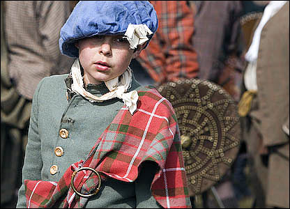 Culloden recreation - Pictures by Dougie Johnston