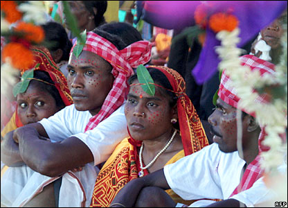 Tribal wedding in India