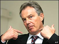 Tony Blair in a recent photo