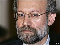Senior Iranian official Ali Larijani