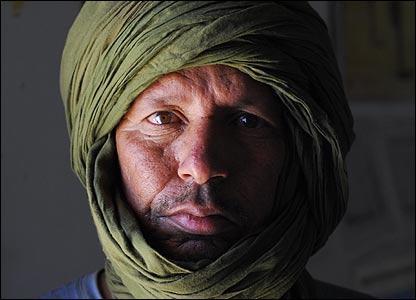 Western Sahara amputee (Copyright: Steve Franck)