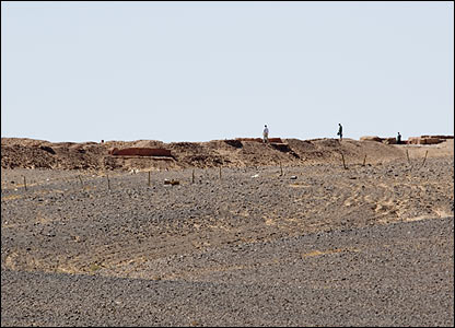 Moroccan wall of defence (Copyright: Steve Franck)