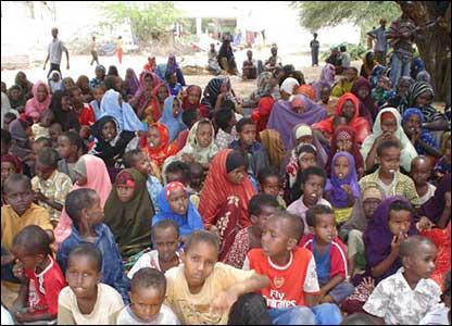 Orphans who fled Mogadishu to Ceelasha Biyaha