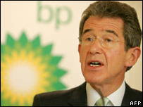 BP chief Lord Browne