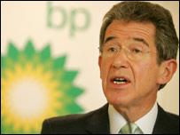 BP chief Lord Browne