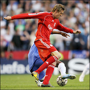 Crouch attempts to fashion an early chance