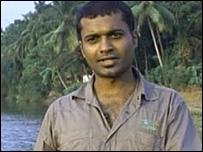 Gopi Parayil telling his story