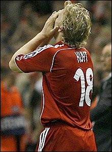 Kuyt rues his luck