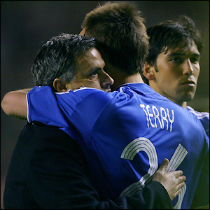Mourinho and Terry show their disappointment