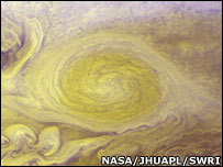 Little Red Spot   Image: Nasa/JHUAPL/SwRI